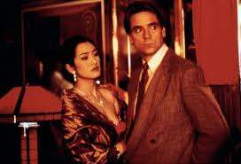Gong Li and Jeremy Irons in Chinese Box