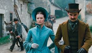 Madame Bovary -- a costume drama starring Wasikowska as well as a discussion between the book and the movie