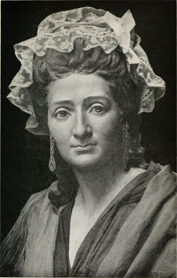 Madame Tussaud, a portrait study at age 42, Little by Edward Carey